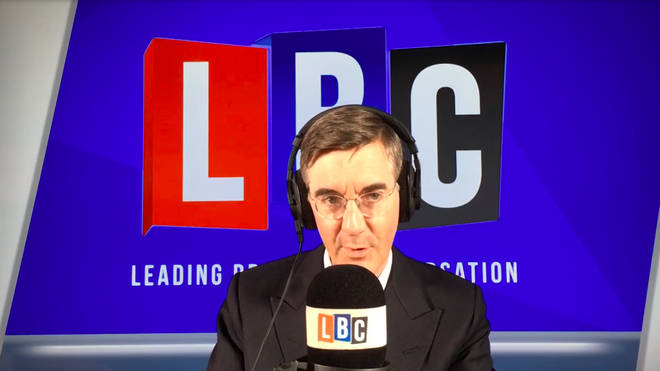 Jacob Rees-Mogg was talking about the sacking on Gavin Williamson.