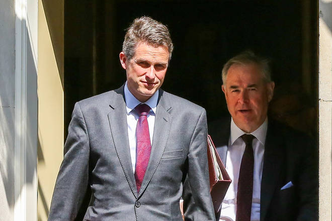 Gavin Williamson was fired by the Prime Minister after he refused to quit.