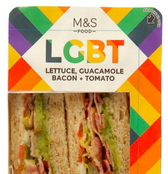 M&S has launched the controversial snack for Pride.