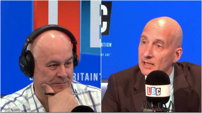 Lord Adonis was answering questions from the public on Iain Dale on Sunday.