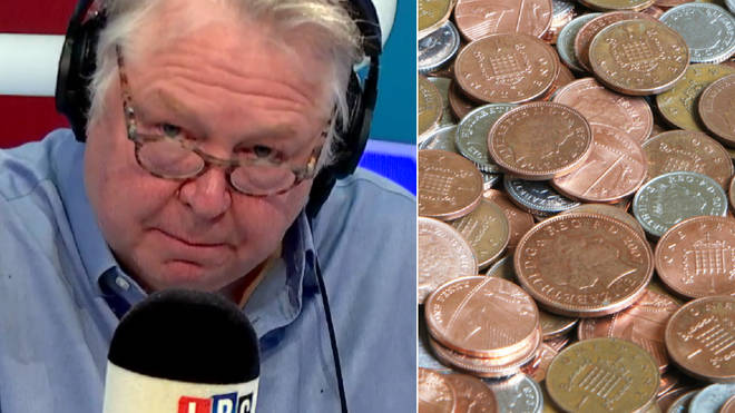 Nick Ferrari thinks the idea to drop pennies is a PR disaster