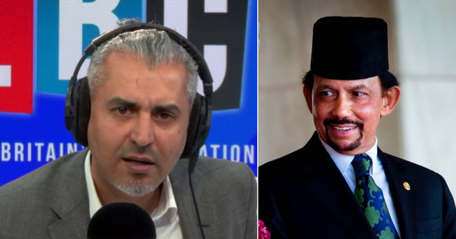 Maajid Nawaz had some strong words for the Sultan of Brunei