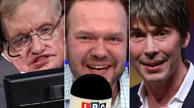 James O'Brien spoke to Brian Cox about Stephen Hawking