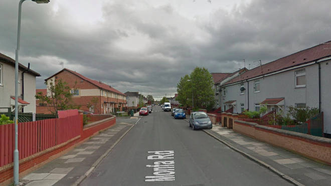 The road in Bootle where the incident occurred.