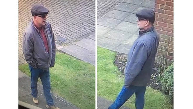 Police want to urgently speak to the man.