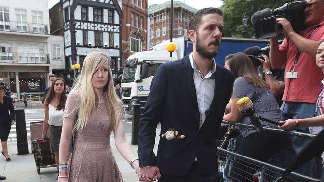 Charlie Gard's parents stormed out of the High Court on Thursday