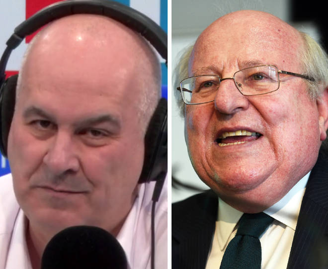 Iain Dale blasted Mike Gapes MP over allegation about the funding of The Brexit Party