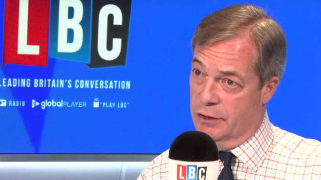 "Nigel Farage said a ""clean-break Brexit"" is now the popular choice among Brits"