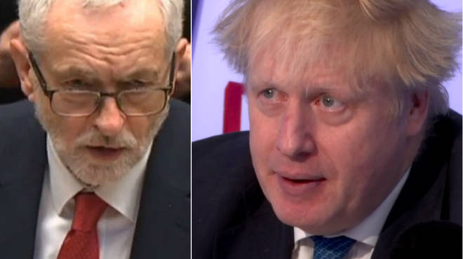 Boris Johnson admitted what he said to Jeremy Corbyn