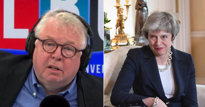 Nick Ferrari had some strong words for Theresa May