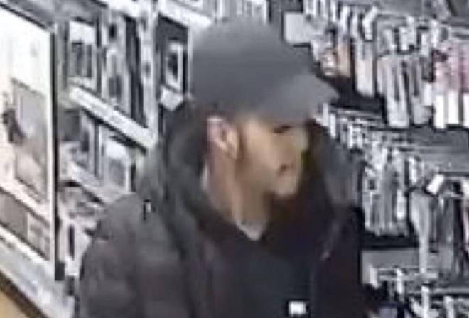 Police want to speak to this man in connection with the attack.