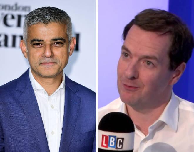 Sadiq Khan, George Osborne