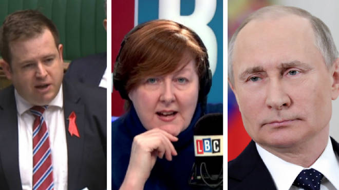 Stephen Doughty, Shelagh Fogarty, Putin