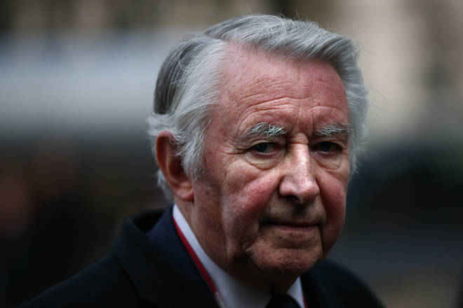 Former Liberal Democrat party leader David Steel