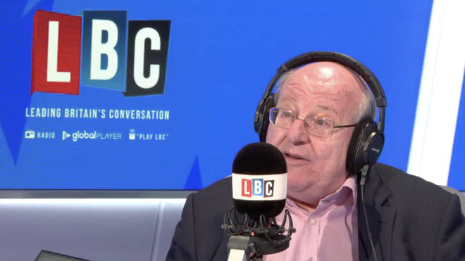 Change UK MP Mike Gapes in the LBC studio