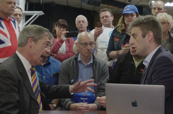 Nigel Farage spoke to Theo Usherwood in an online Q&A