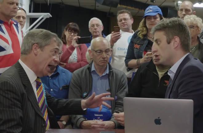 Nigel Farage spoke to Theo Usherwood in an online Q&A