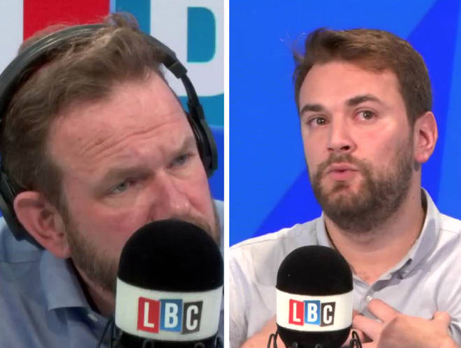 Jonny joined James O'Brien in the LBC studio on Monday