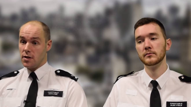 Police Bravery Awards: PCs Wayne Pullen and Jason Hodgson