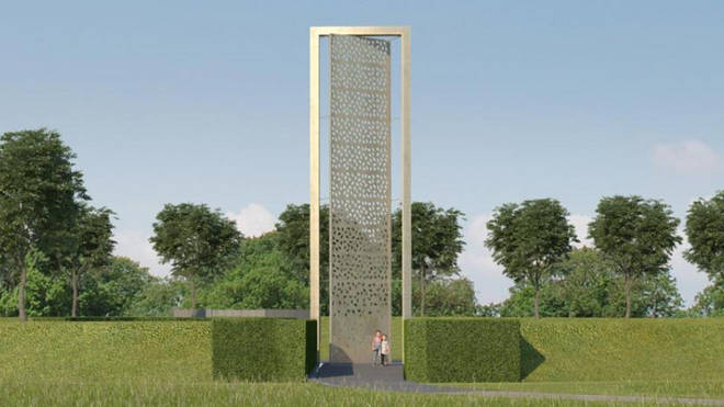 What the new UK Police Memorial will look like