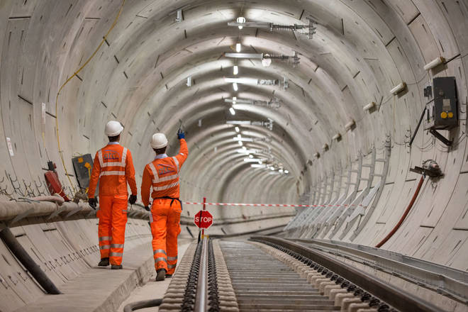 Technicians have been hired, but are just practicing because of the Crossrail delay