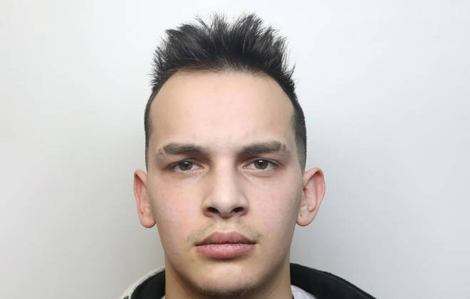 Patrick Gunar, 22, was jailed for three years on Monday