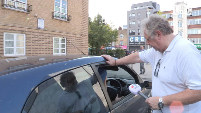 Nick Ferrari on a Stop And Search operation with the police