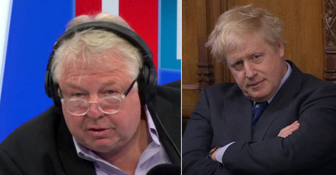 Nick Ferrari defended Boris Johnson over his private life