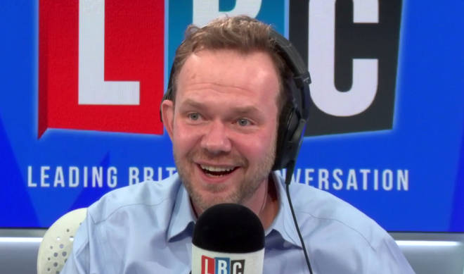 James O'Brien got emotional as he heard Hannah's response