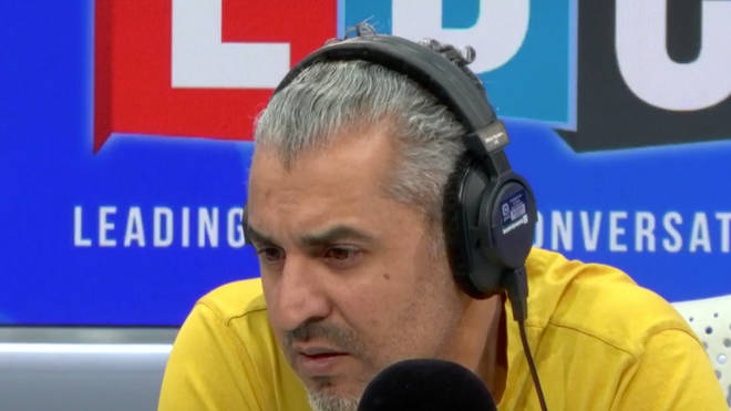 Maajid Nawaz was left speechless by John's story