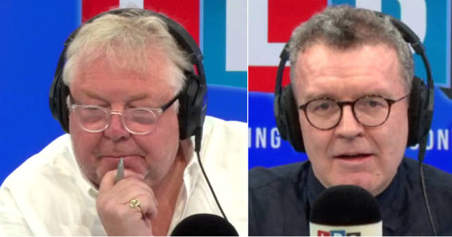 Nick Ferrari had some tough questions for Tom Watson