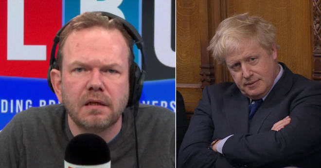James O'Brien rowed with this caller over Boris Johnson
