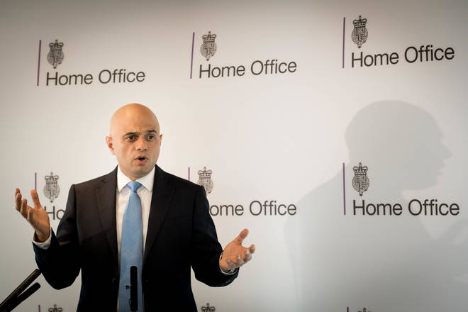 Sajid Javid was speaking at Scotland Yard announcing an overhaul of espionage and treason laws.Sajid Javid was speaking at Scotland Yard announcing an overhaul of espionage and treason laws.