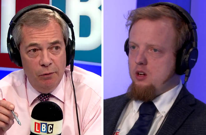 Nigel Farage Aaron Brown