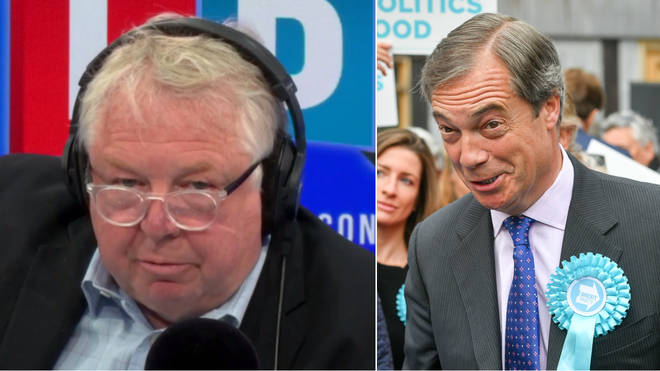 Nick Ferrari spoke to Nigel Farage about the Electoral Commission review