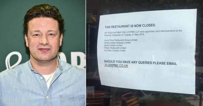 Jamie Oliver's restaurants have gone into administration