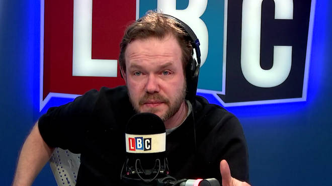 James O'Brien got very emotional listening to Nick's story