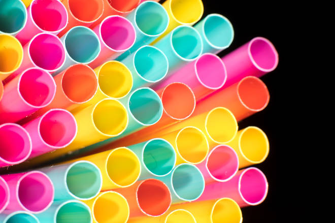 Plastic straws are being banned from next year