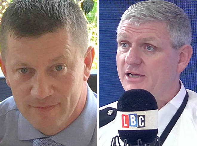PC Keith Palmer PC Shaun Cartwright