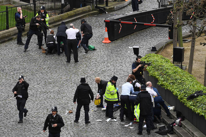 Westminister terror attack