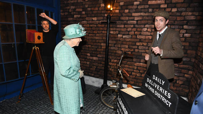 The Queen spoke about her own experiences of food during the Second World War.