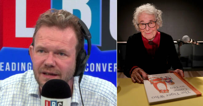 James O'Brien spoke lovingly of Judith Kerr's famous book