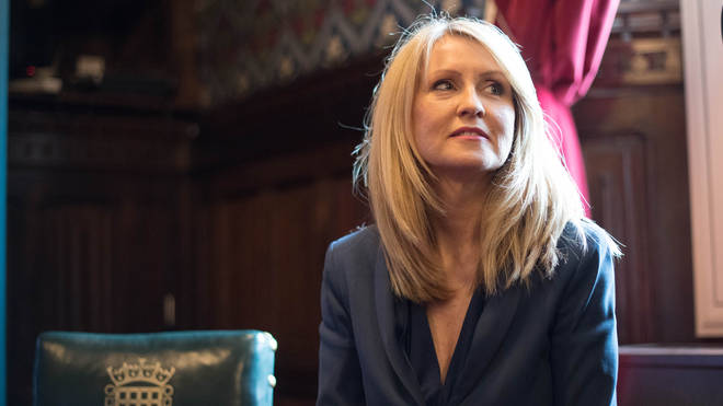 Esther McVey has thrown her hat into the ring