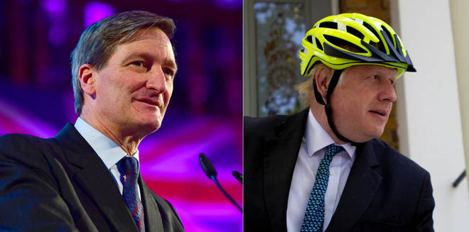 Dominic Grieve had strong words about Boris Johnson