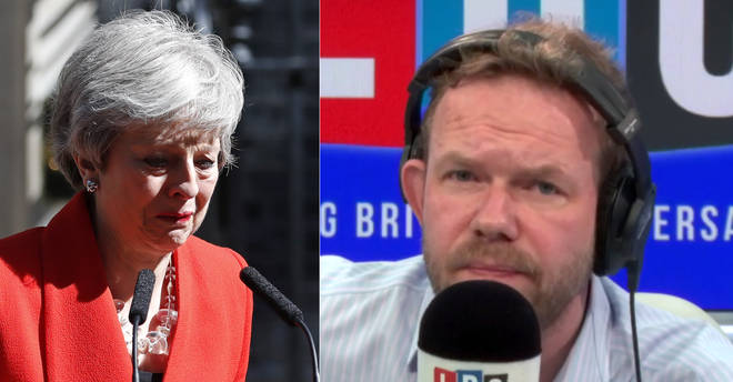 James O'Brien responded to Theresa May's resignation