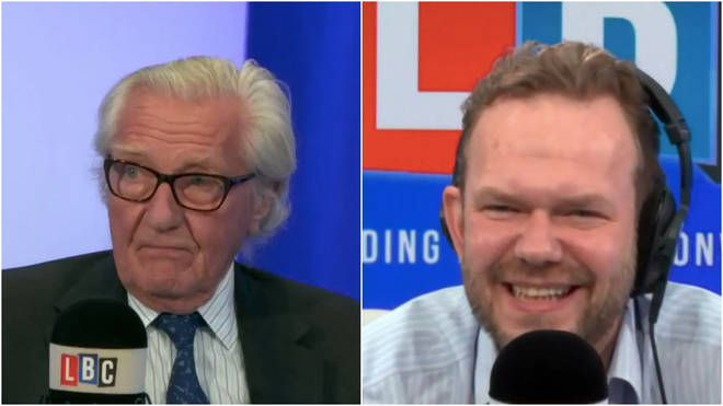 Lord Heseltine was speaking to LBC's James O'Brien.
