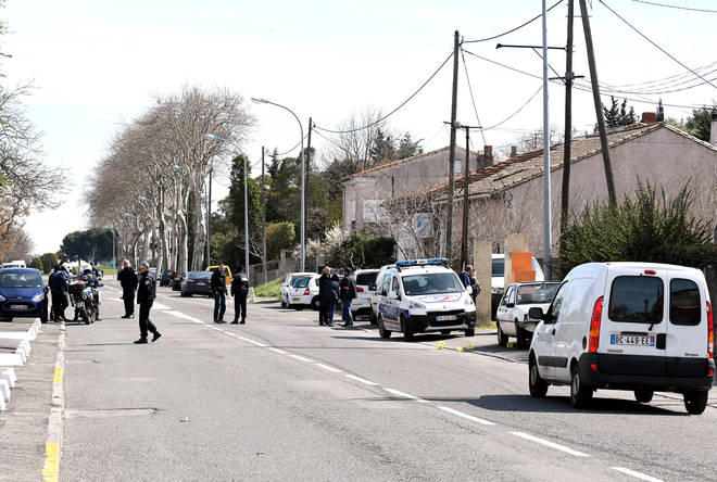 Gunman claiming links to Isis takes hostages at supermarket in southern France