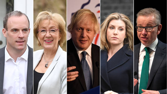 The Conservative leadership candidates