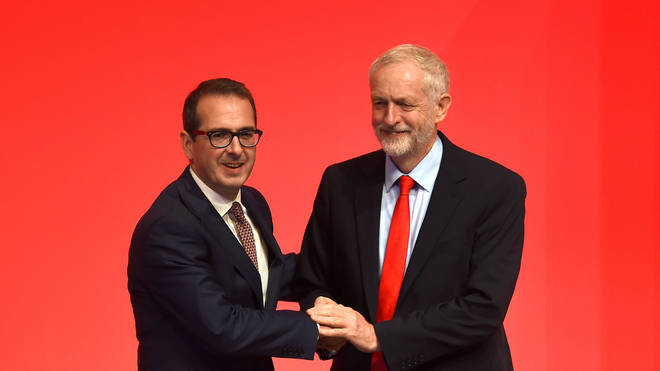 Jeremy Corbyn has sacked Owen Smith as shadow Northern Ireland secretary.