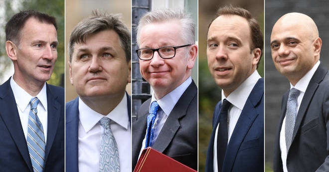 Tory leadership candidates who have not ruled out leaving with no-deal